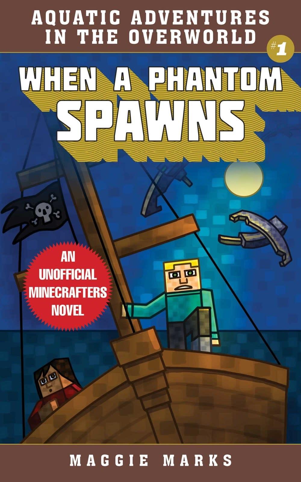 Sky Pony Minecraft: Aquatic Adventures: When a Phantom Spawns