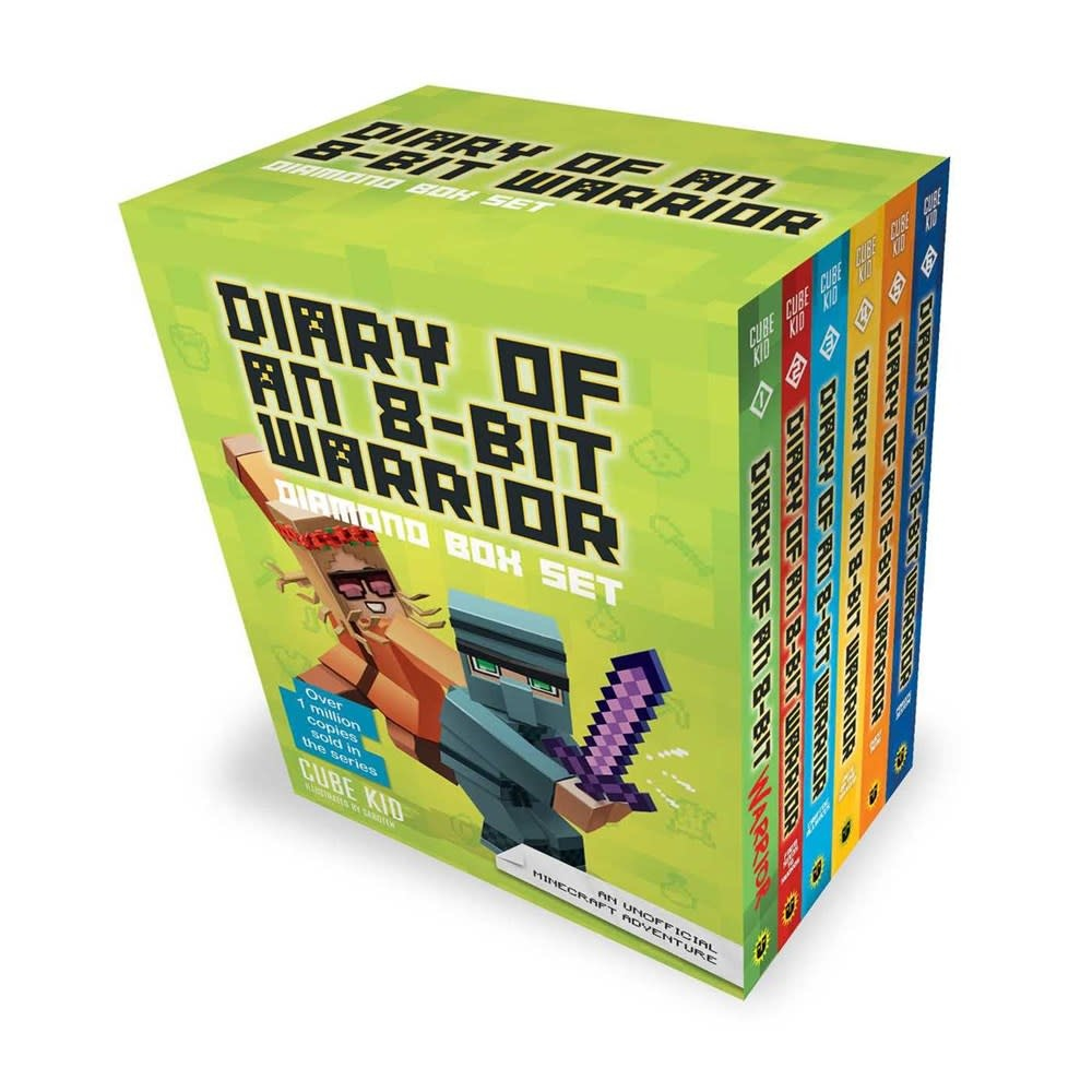 Andrews McMeel Publishing Minecraft: Diary of an 8-Bit Warrior Diamond Boxed Set (6 Books)