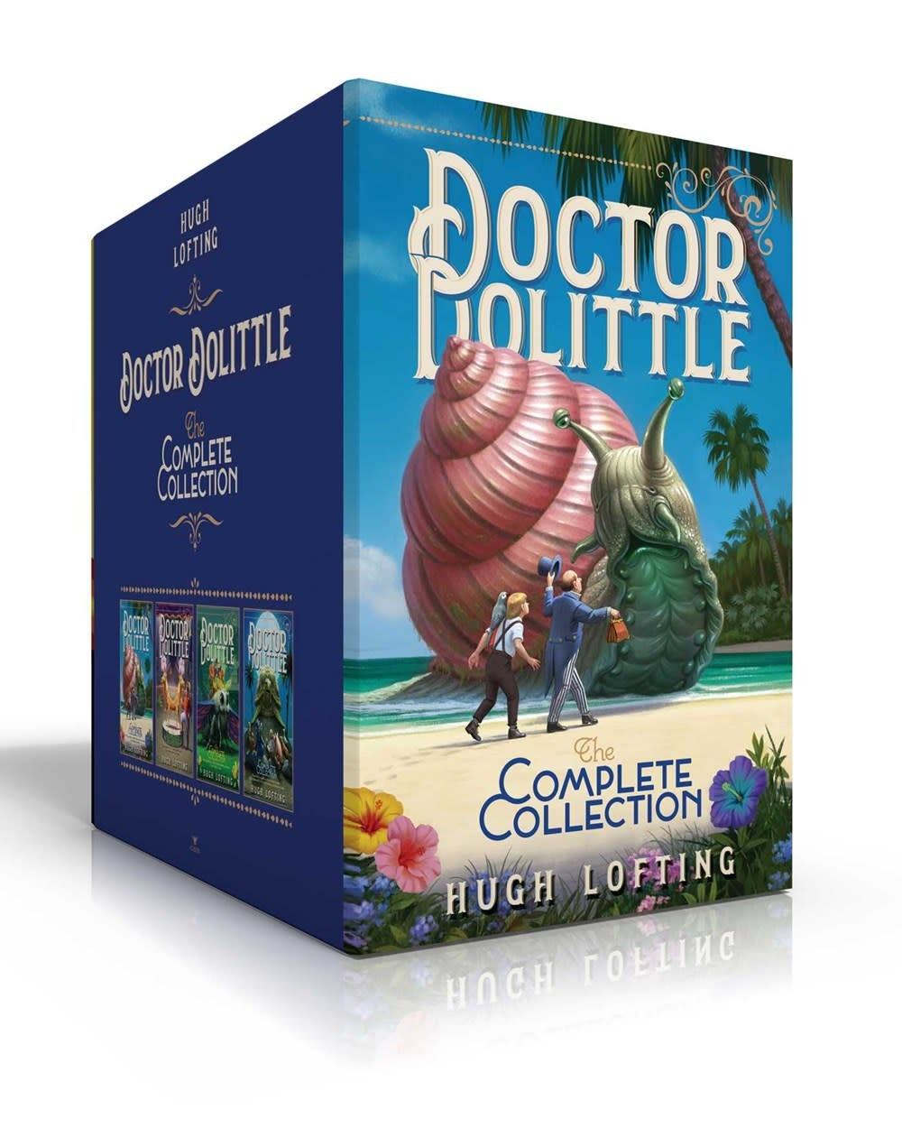 Aladdin Doctor Dolittle The Complete Boxed Set (4 Books)