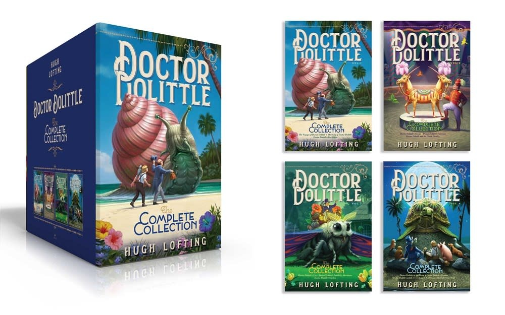 Aladdin Doctor Dolittle: The Complete Boxed Set (4 Books)