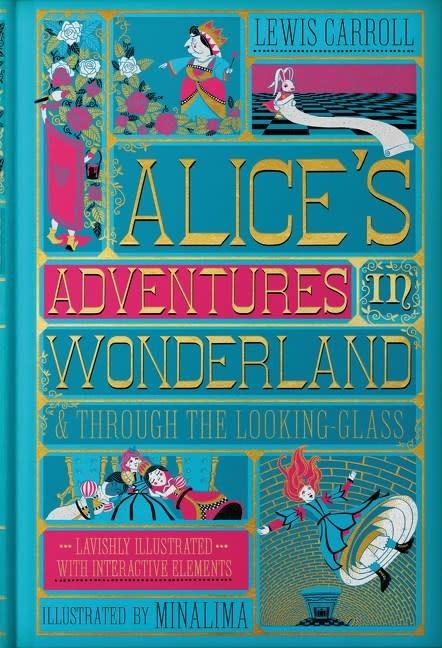Harper Design Alice's Adventures in Wonderland & Through the Looking-Glass