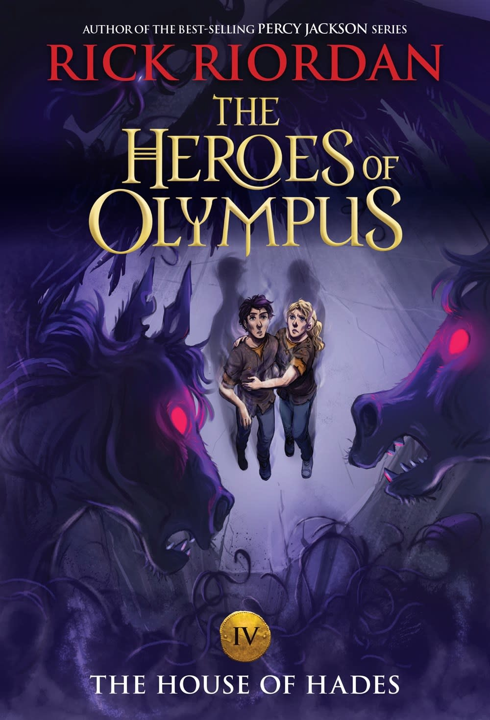 Disney-Hyperion Heroes of Olympus 04 The House of Hades (Percy Jackson) (new cover)