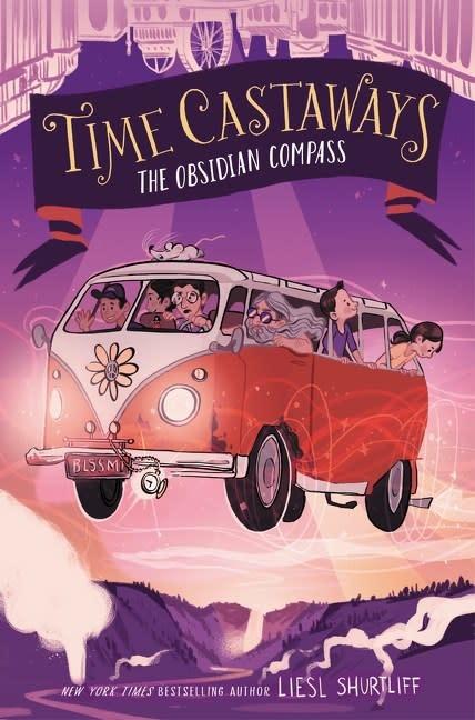 Katherine Tegen Books Time Castaways 02 The Obsidian Compass