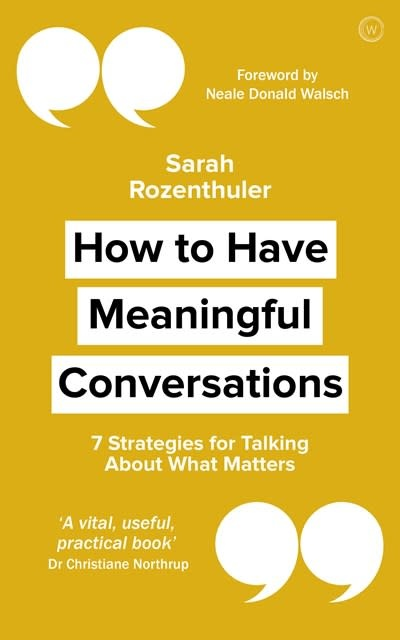 Watkins Publishing How to Have Meaningful Conversations