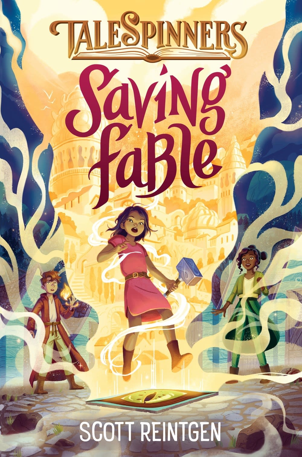 Crown Books for Young Readers Talespinners 01 Saving Fable