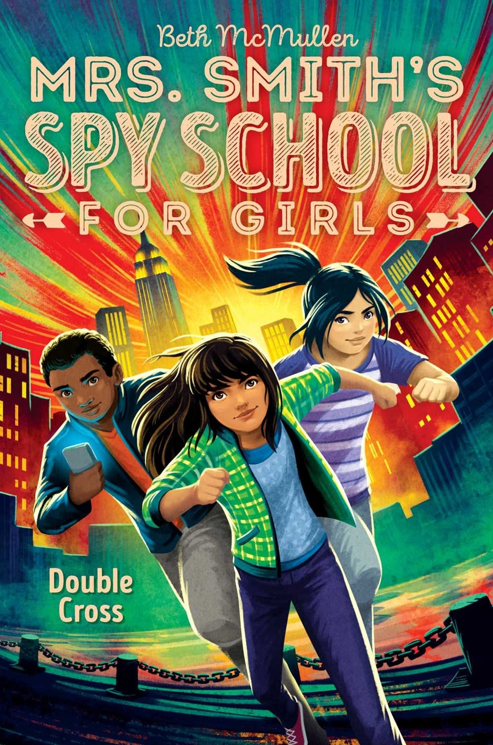 Aladdin Mrs. Smith's Spy School for Girls 03 Double Cross