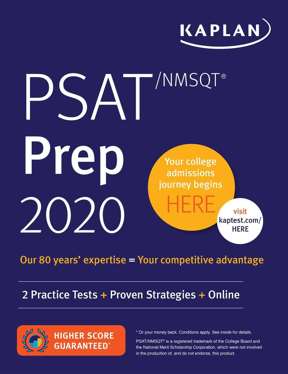 Kaplan Publishing PSAT/NMSQT Prep 2020