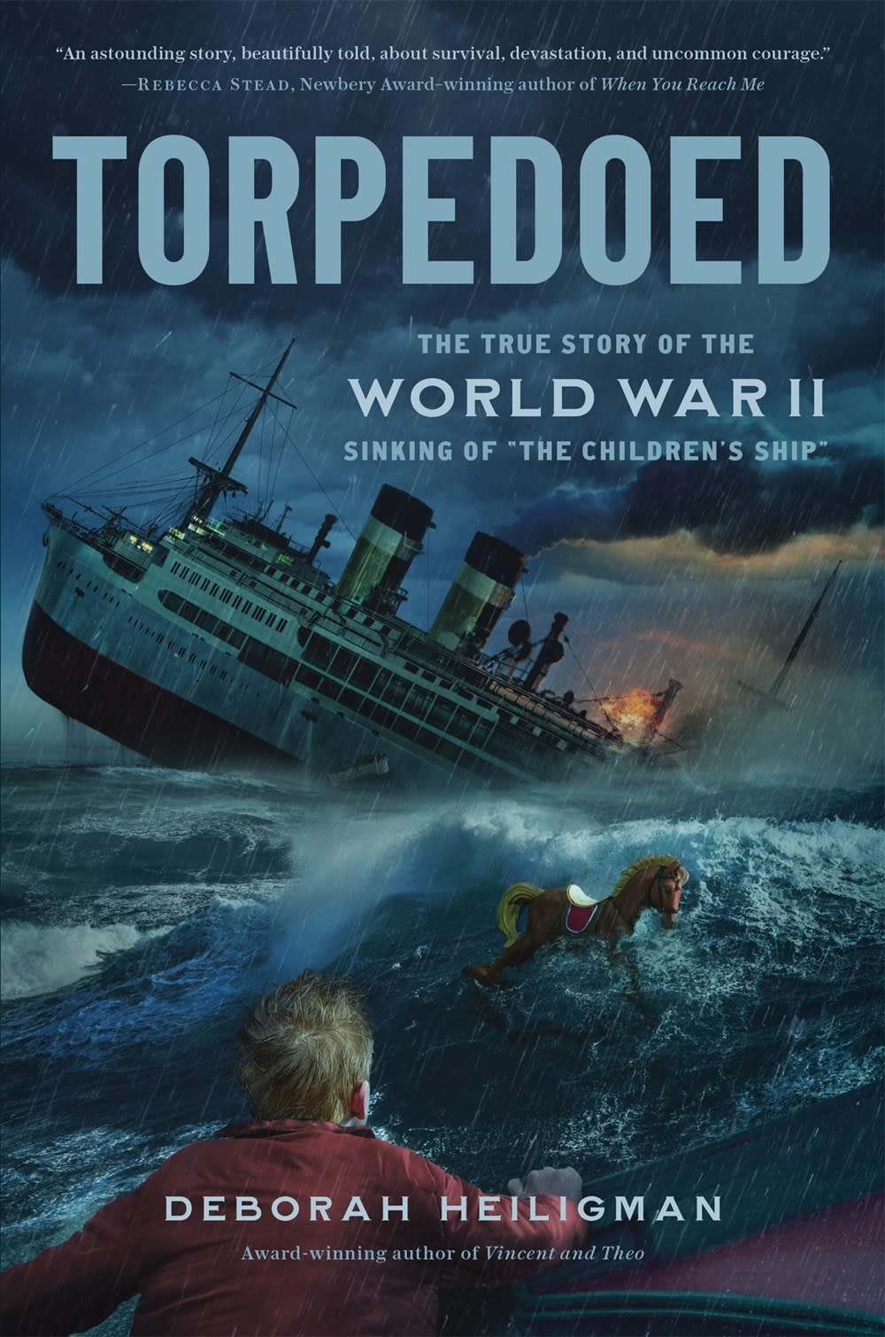 """Henry Holt and Co. (BYR) Torpedoed: ...the WWII Sinking of """"The Children's Ship"""""""