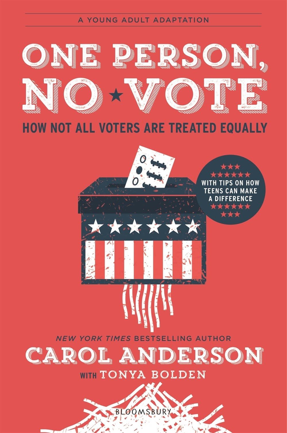 Bloomsbury YA One Person, No Vote (Young Adult Ed.)
