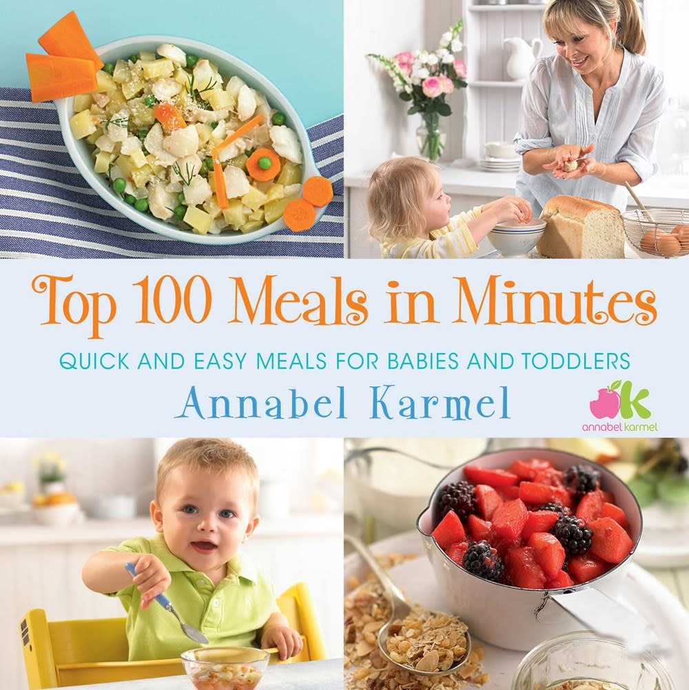 Atria Books Top 100 Meals in Minutes: ...for Babies and Toddlers