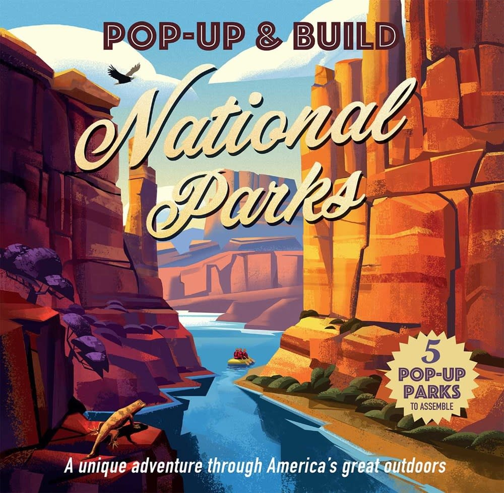 Thunder Bay Press Pop-Up & Build: National Parks