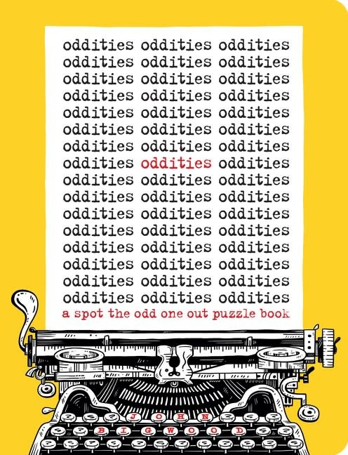 Harper Design Oddities: A Spot the Odd One Out Puzzle Book