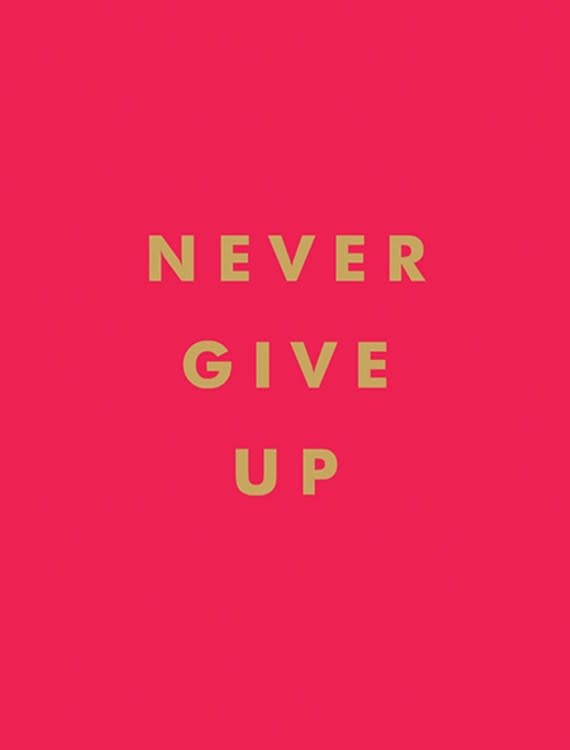 Summersdale Never Give Up