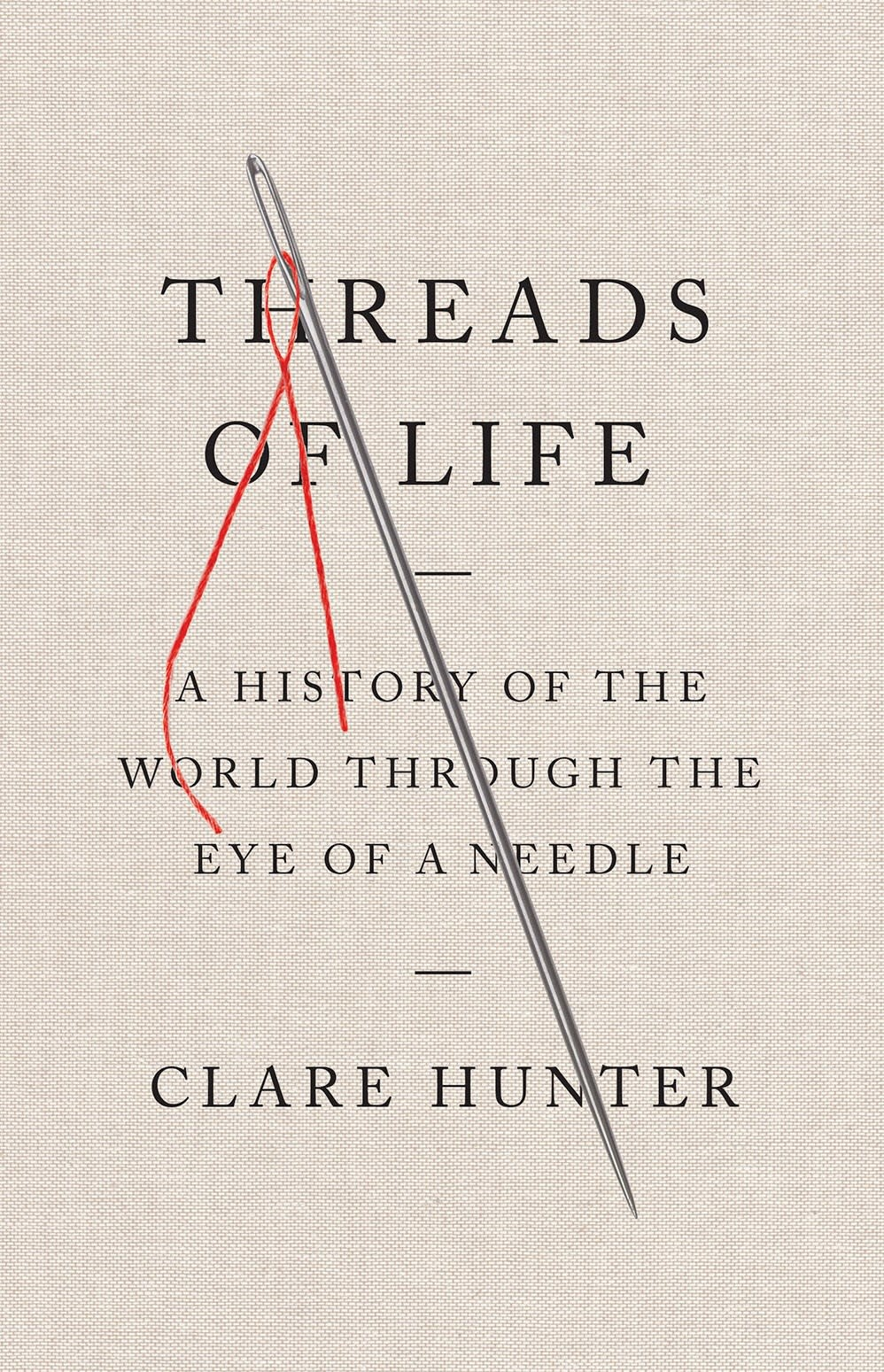 Abrams Press Threads of Life: A History... Through the Eye of a Needle