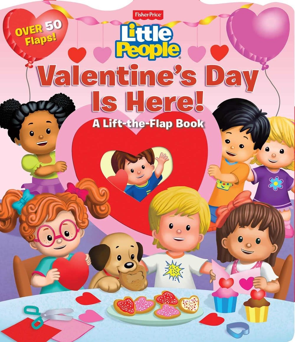 Printers Row Fisher-Price Little People: Valentine's Day is Here!