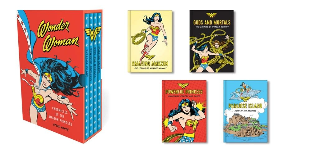 Running Press Adult DC Wonder Woman: Chronicles of... Boxed Set (4 Books)
