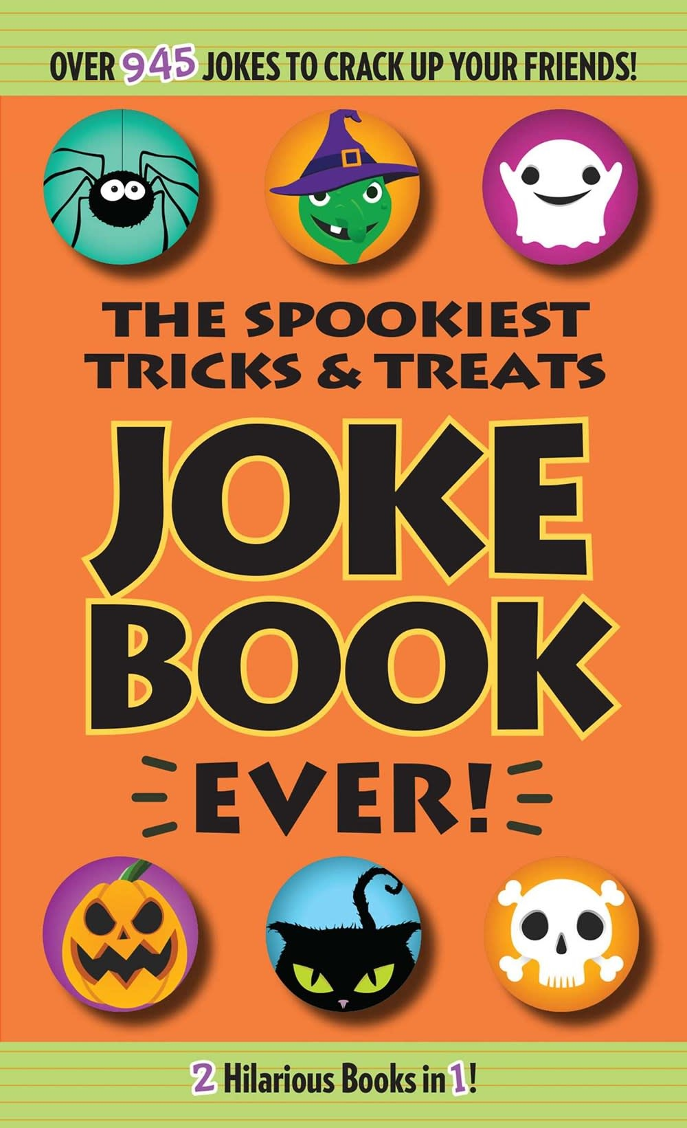 Portable Press The Spookiest Tricks & Treats Joke Book Ever!