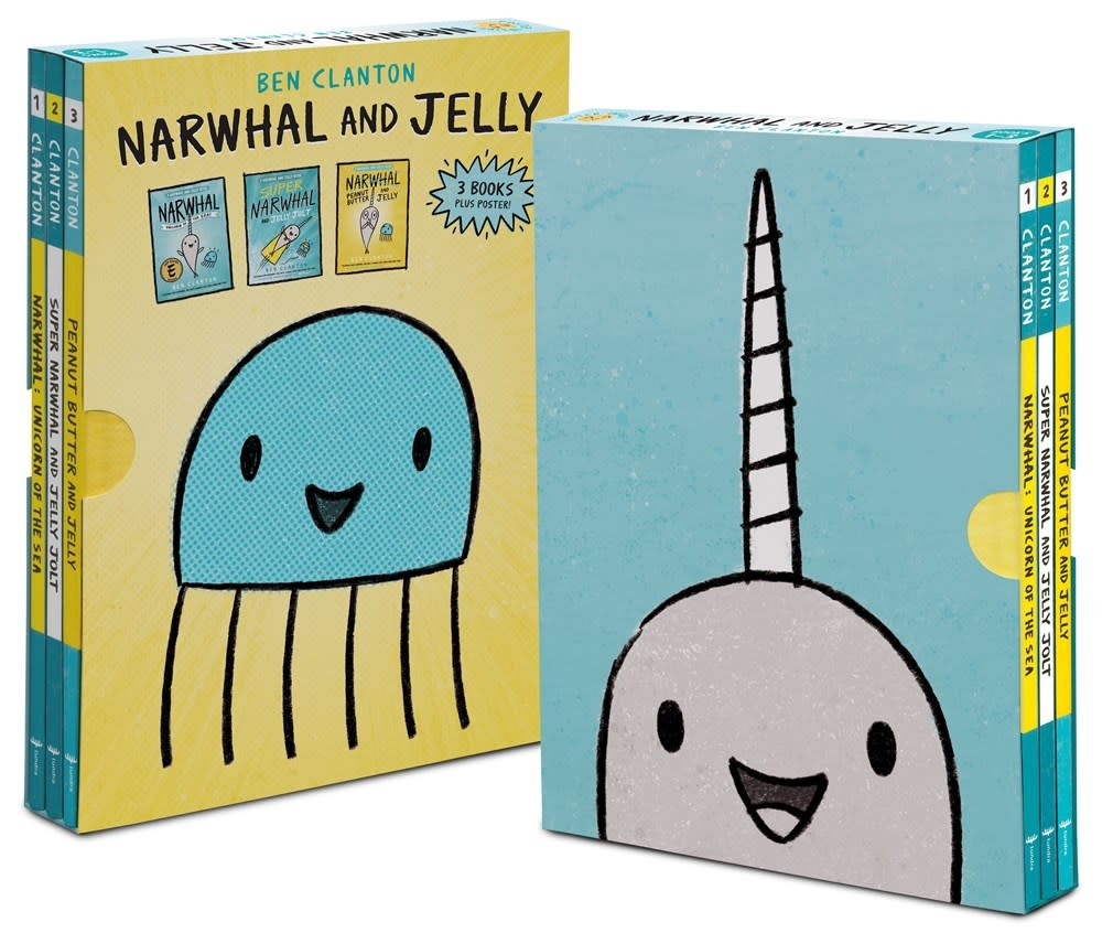 Tundra Books Narwhal and Jelly Boxed Set (Books #1-3 Poster)