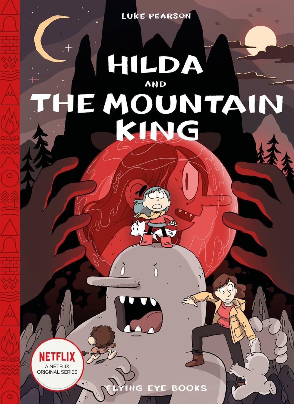 Flying Eye Books Hilda and The Mountain King