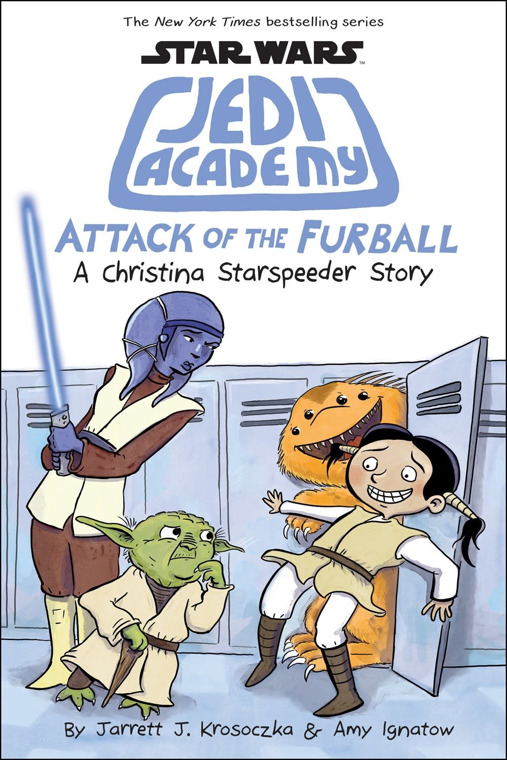Scholastic Inc. Star Wars Jedi Academy 08 Attack of the Furball