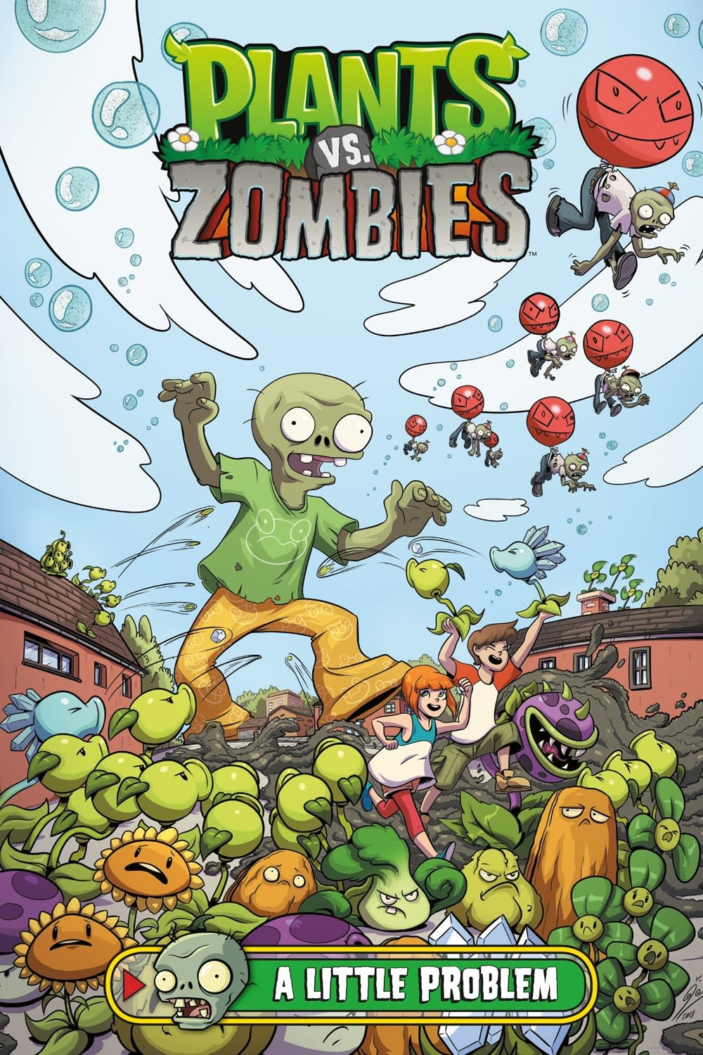 Dark Horse Books Plants vs. Zombies: A Little Problem