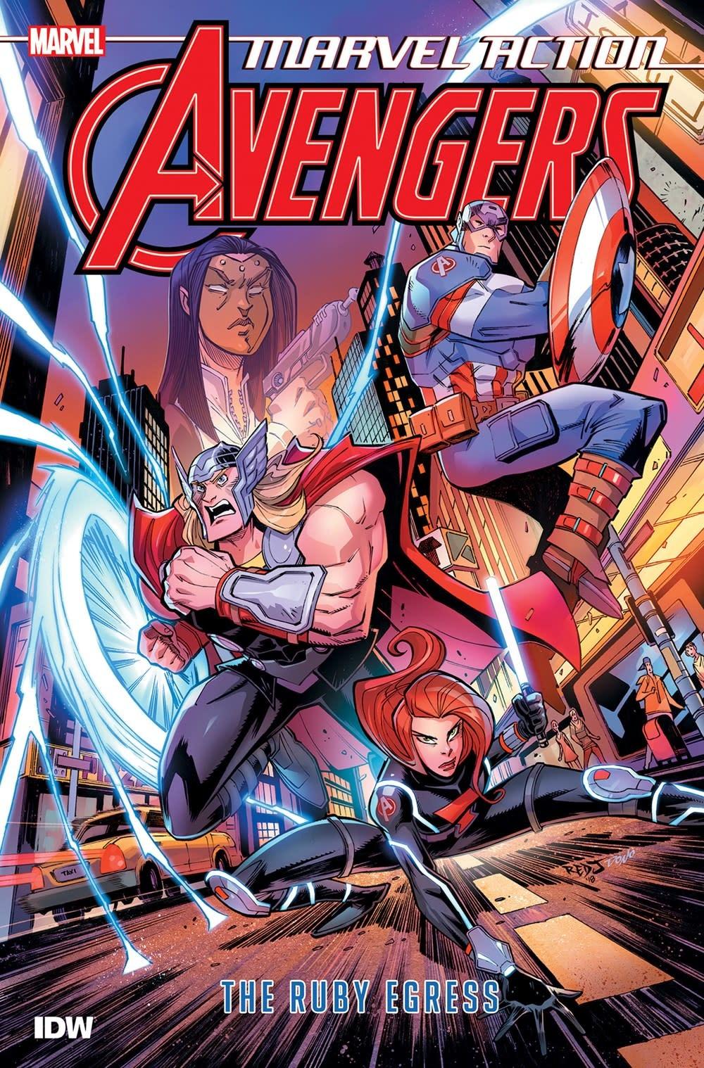 IDW Publishing Marvel Action: Avengers: The Ruby Egress 02
