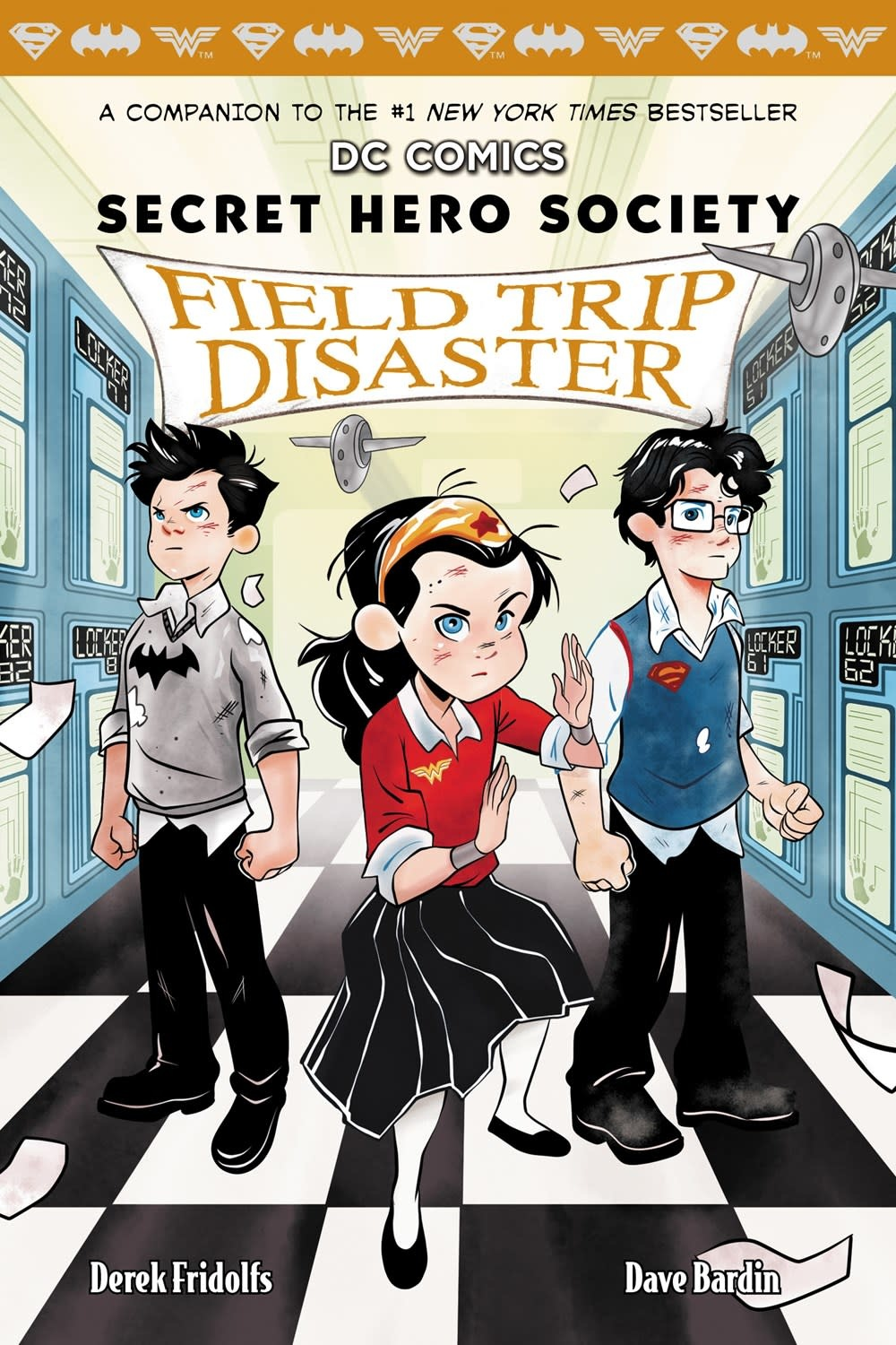 Scholastic Inc. DC Secret Hero Society 05 Field Trip Disaster