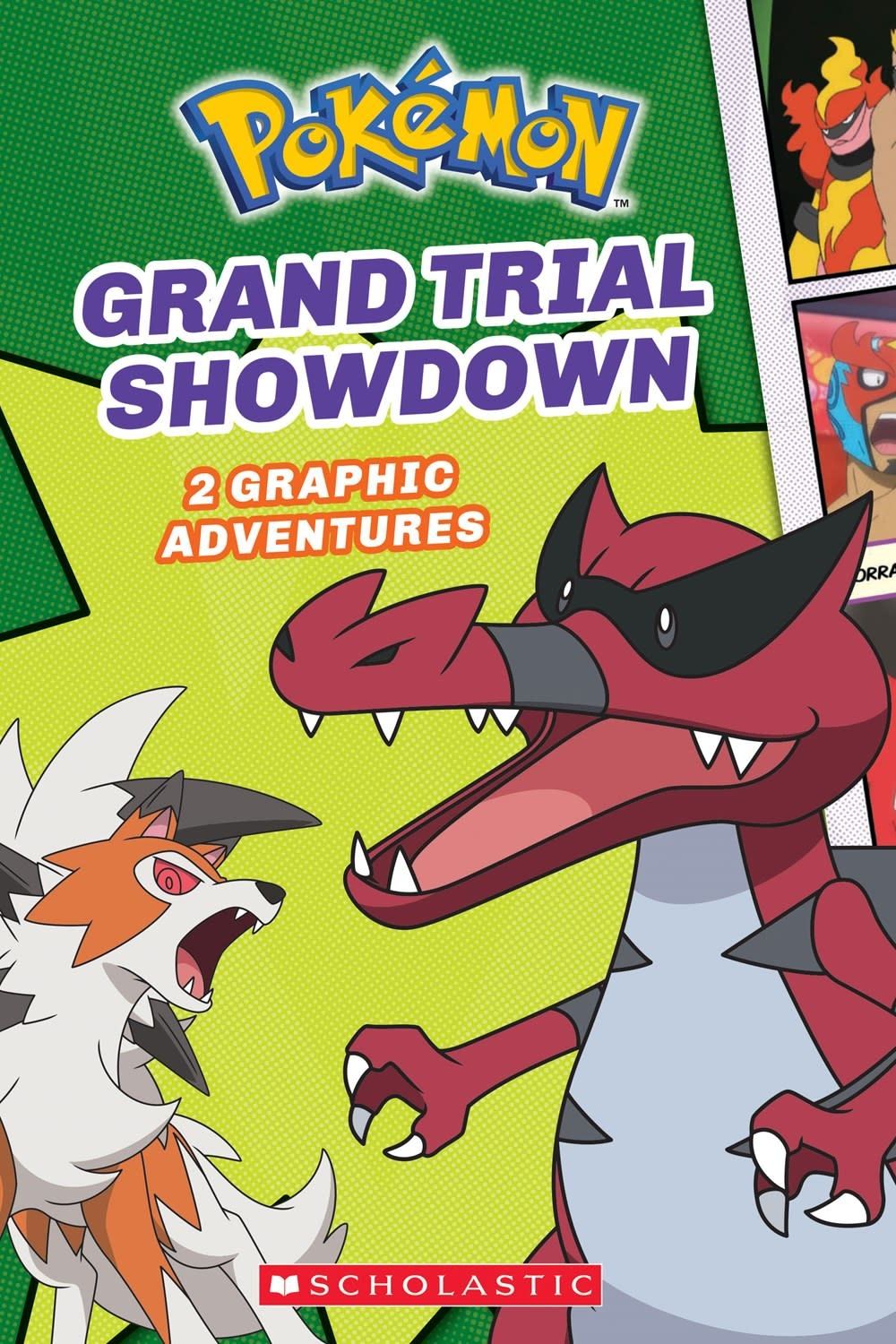 Scholastic Inc. Pokémon: Graphic Collection 02 Grand Trial Showdown