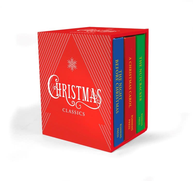 Running Press Miniature Editions Christmas Classics Boxed Set (3 Books)