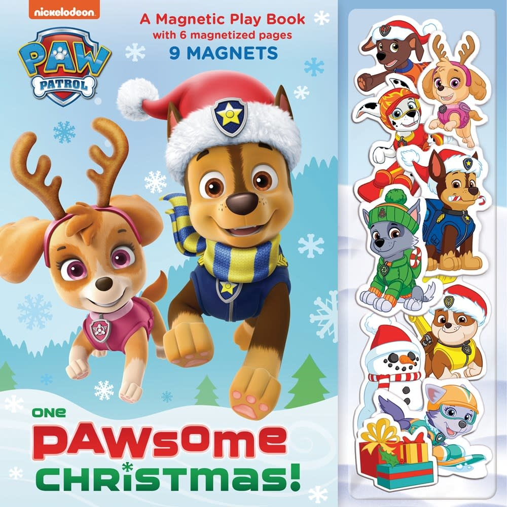 Random House Books for Young Readers One Paw Patrol: Paw-some Christmas (Magnetic Play Book)