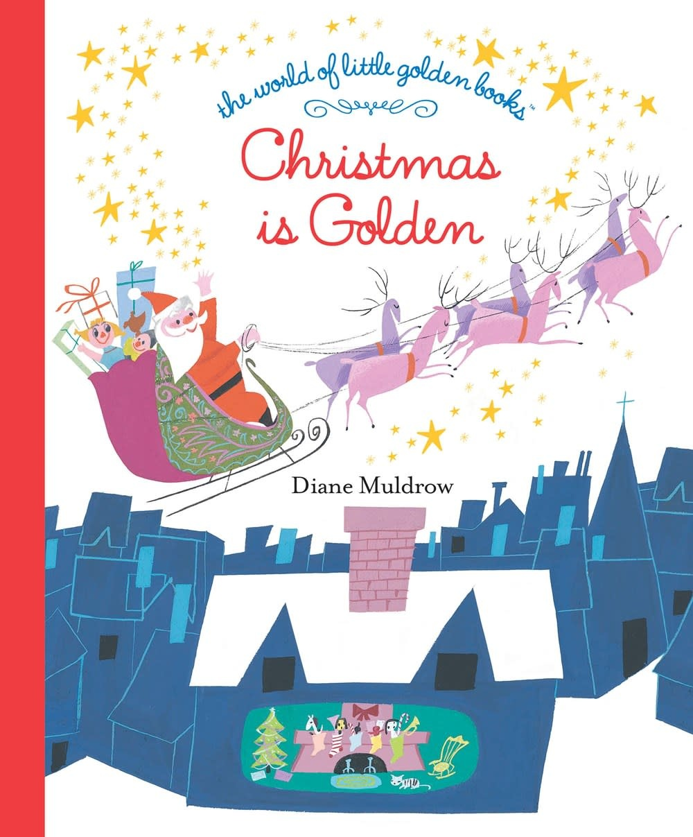 Golden Books Christmas Is Golden