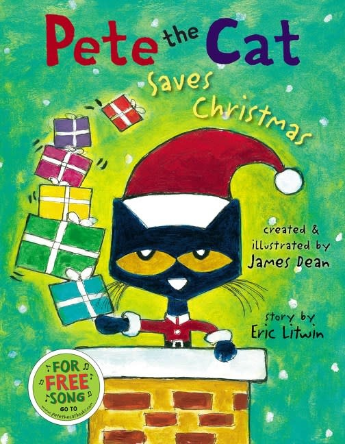 HarperCollins Pete the Cat: Saves Christmas