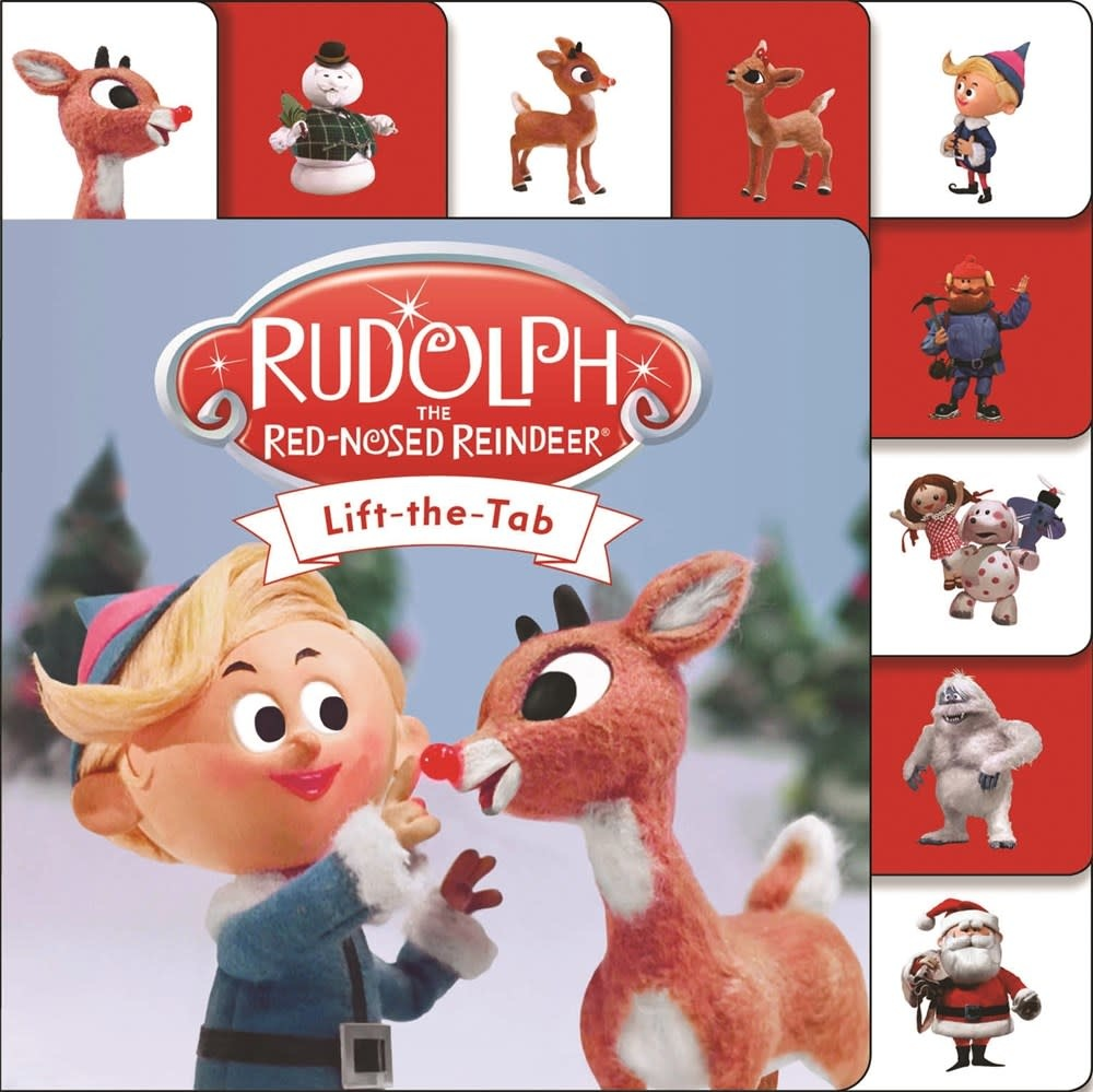 Priddy Books Mini Tab: Rudolph the Red-Nosed Reindeer