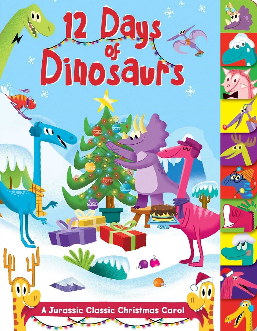 Silver Dolphin Books 12 Days of Dinosaurs