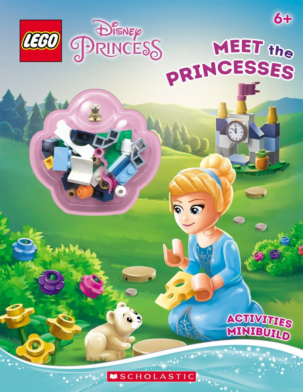 Scholastic Inc. LEGO Disney Princess: Meet the Princesses (Mini-Build + Activity Book)