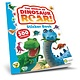 Curiosity Books The World of Dinosaur Roar! (Sticker Book)