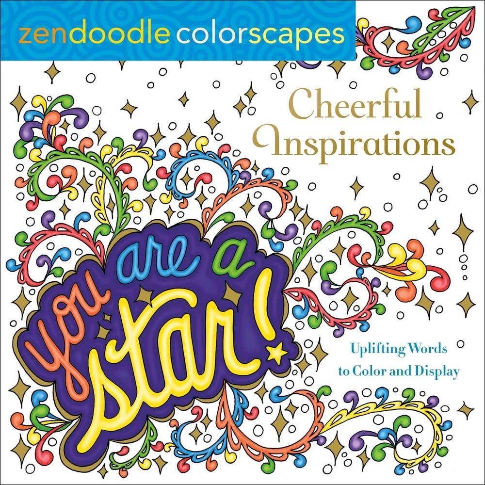 Castle Point Books Zendoodle Colorscapes: Cheerful Inspirations