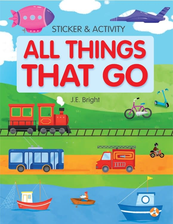 Clever Publishing All Things That Go Activities and Stickers