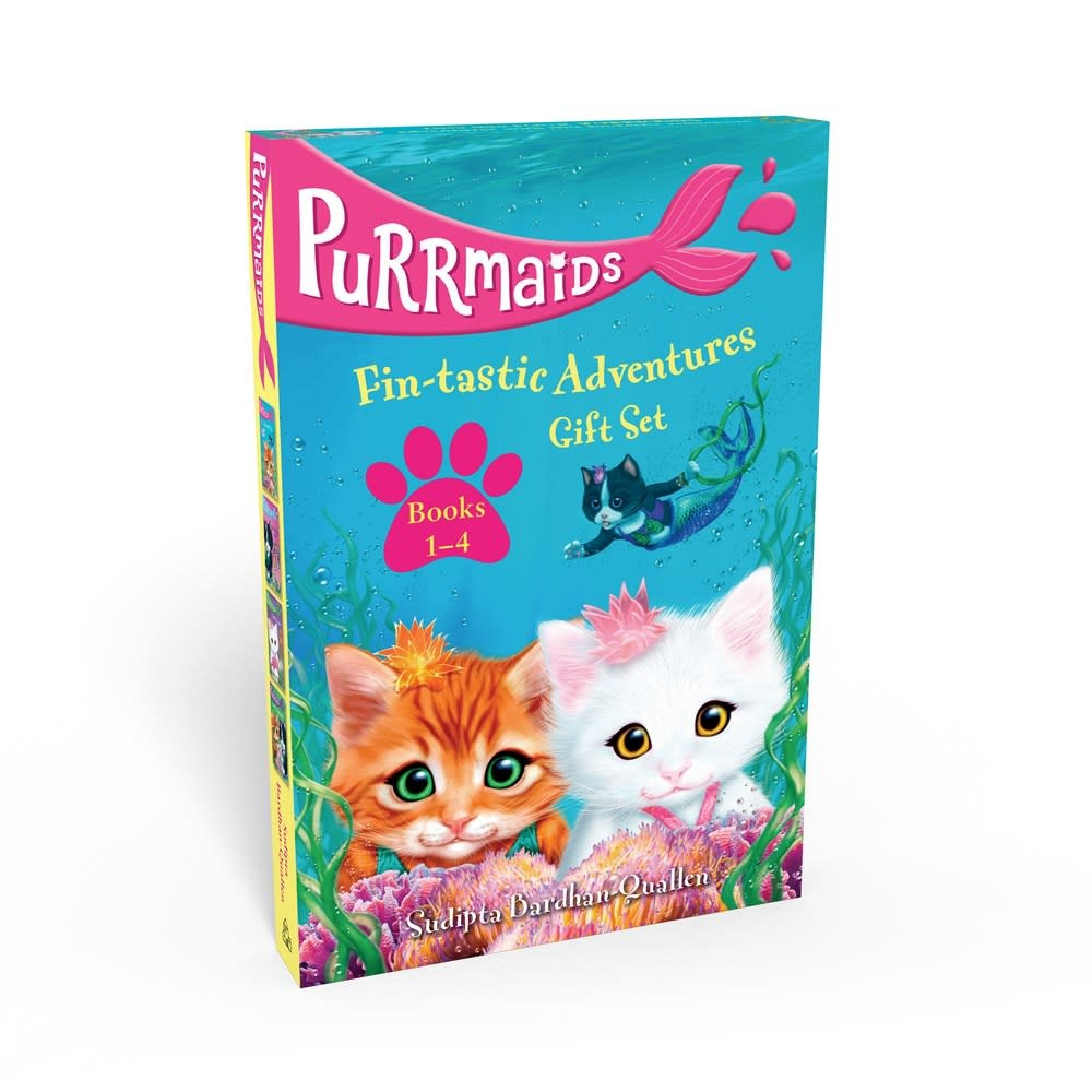 Random House Books for Young Readers Purrmaids Fin-tastic Adventures Omnibus (#1-4)