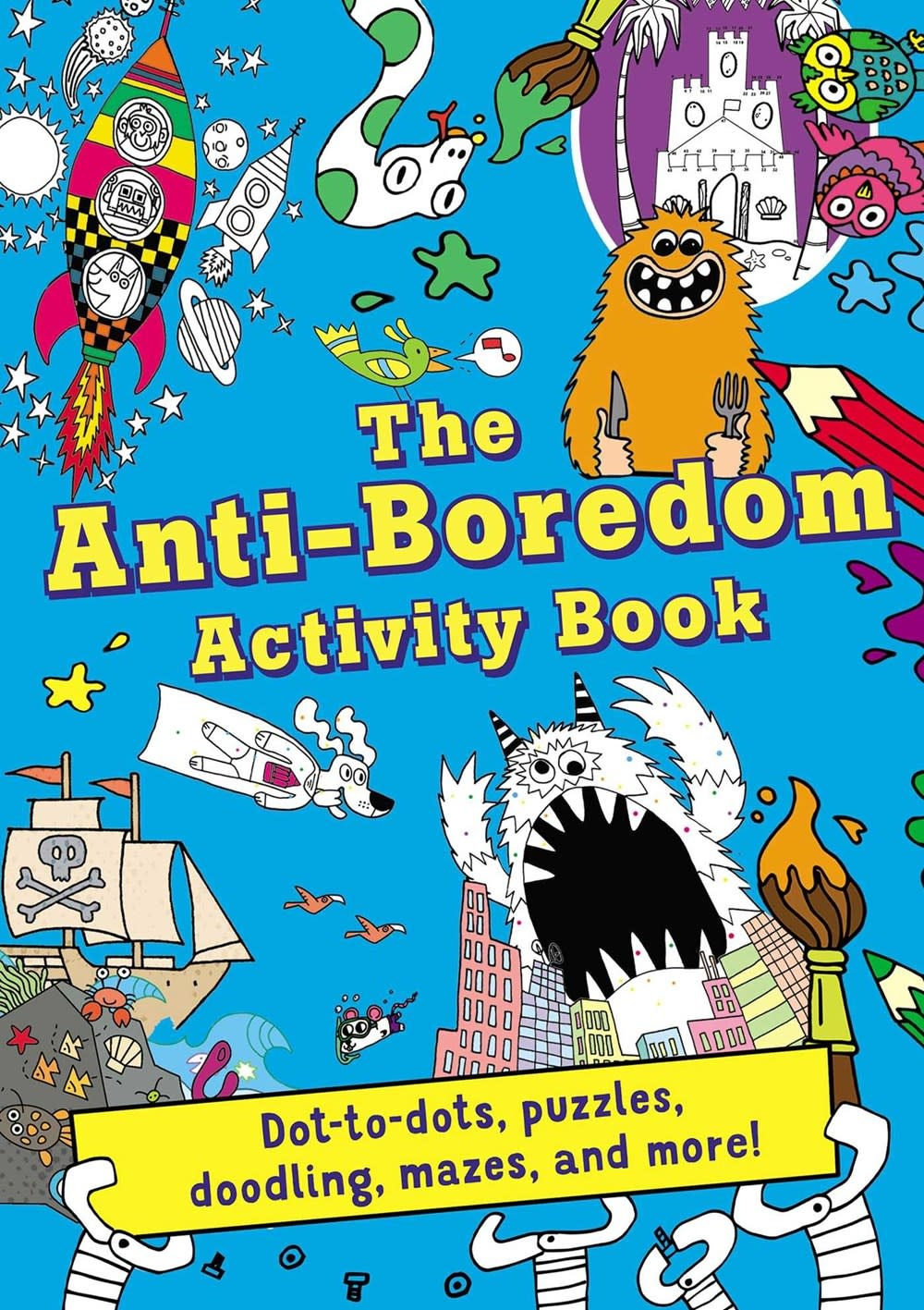 Silver Dolphin Books The Anti-Boredom Activity Book