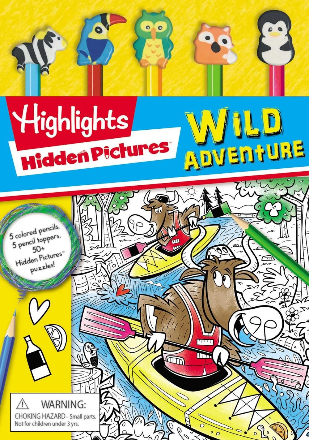 Silver Dolphin Books Highlights: Hidden Pictures: Wild Adventure