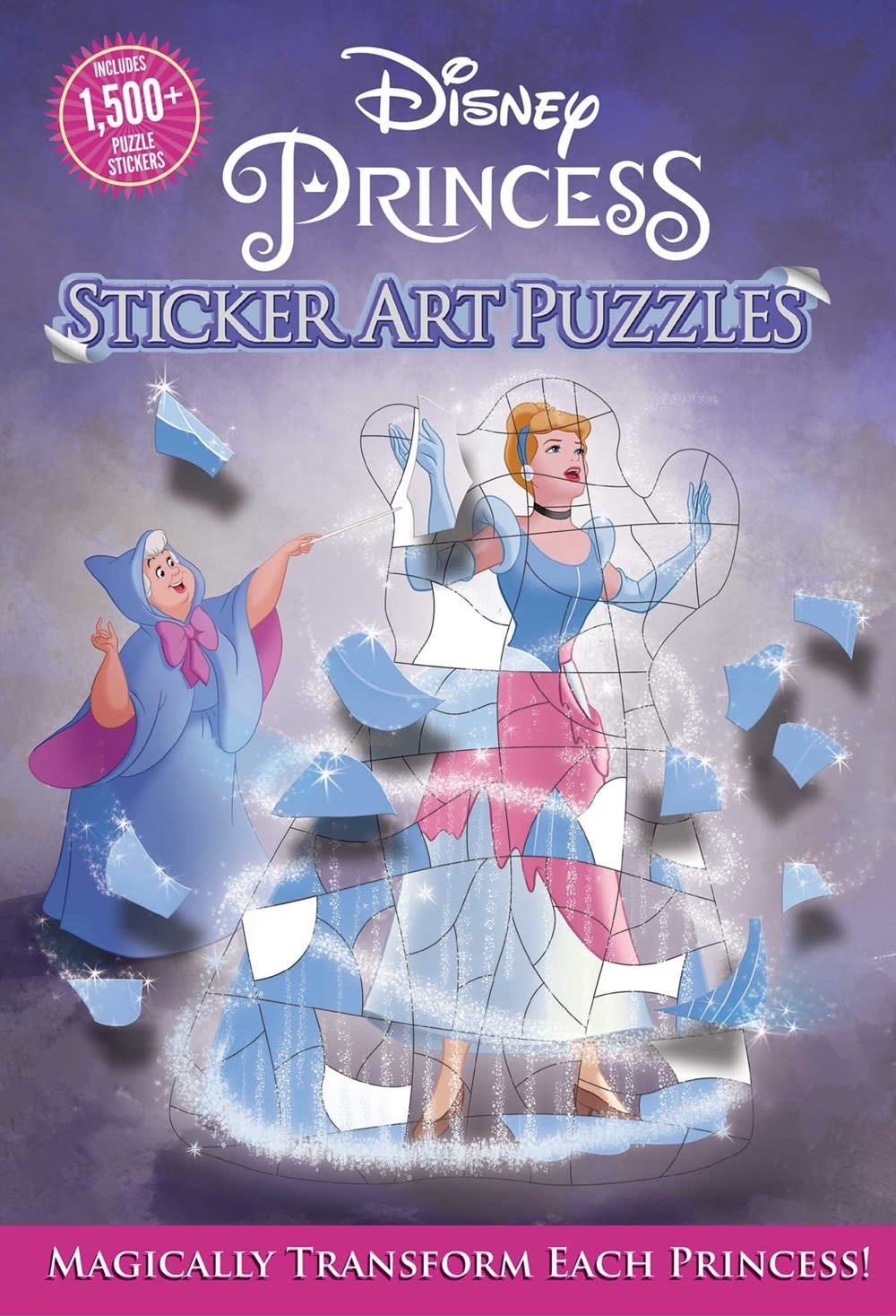 Thunder Bay Press Disney Princess: Sticker Art Puzzles