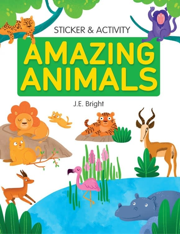 Clever Publishing Amazing Animals (Activity & Sticker Book)