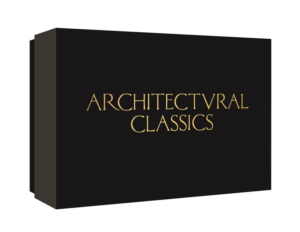 Princeton Architectural Press Architectural Classics Notecards (20 Prints + Envelopes)