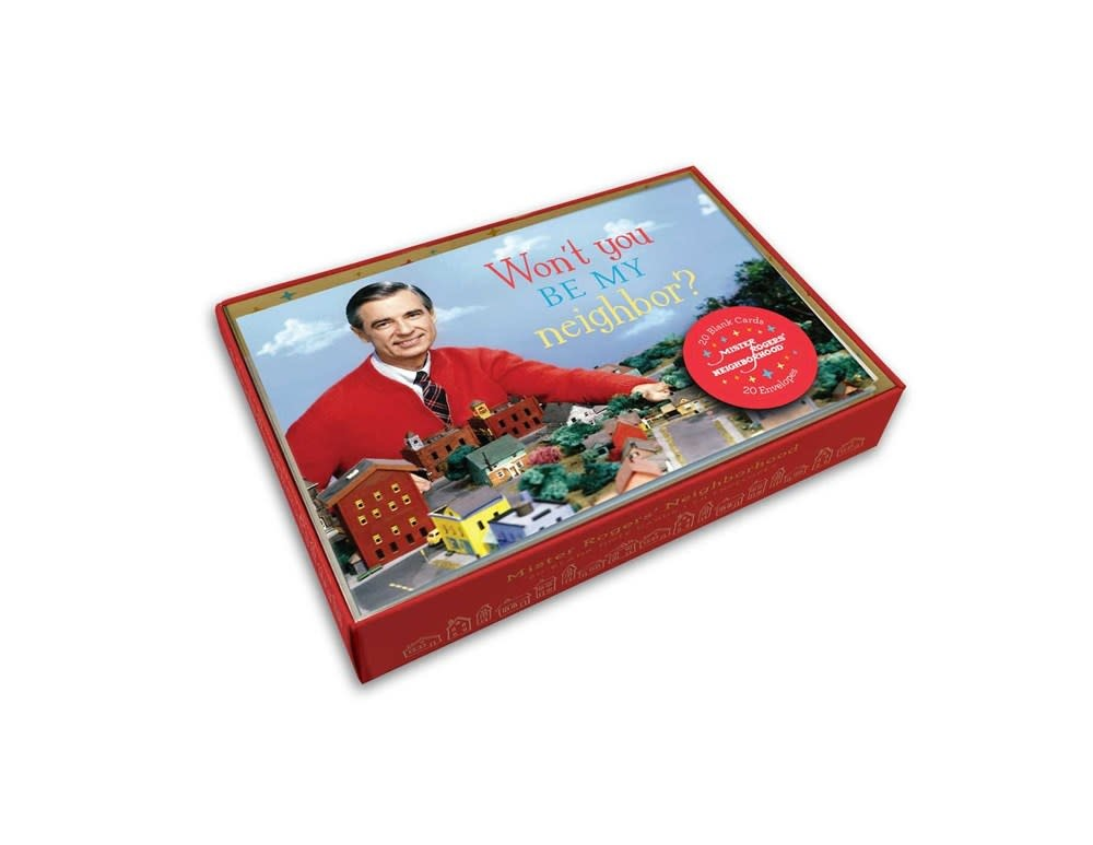 Insights Mister Rogers' Neighborhood (20 Blank Note Cards)