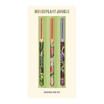 Galison Houseplant Jungle: Everyday Pen Set