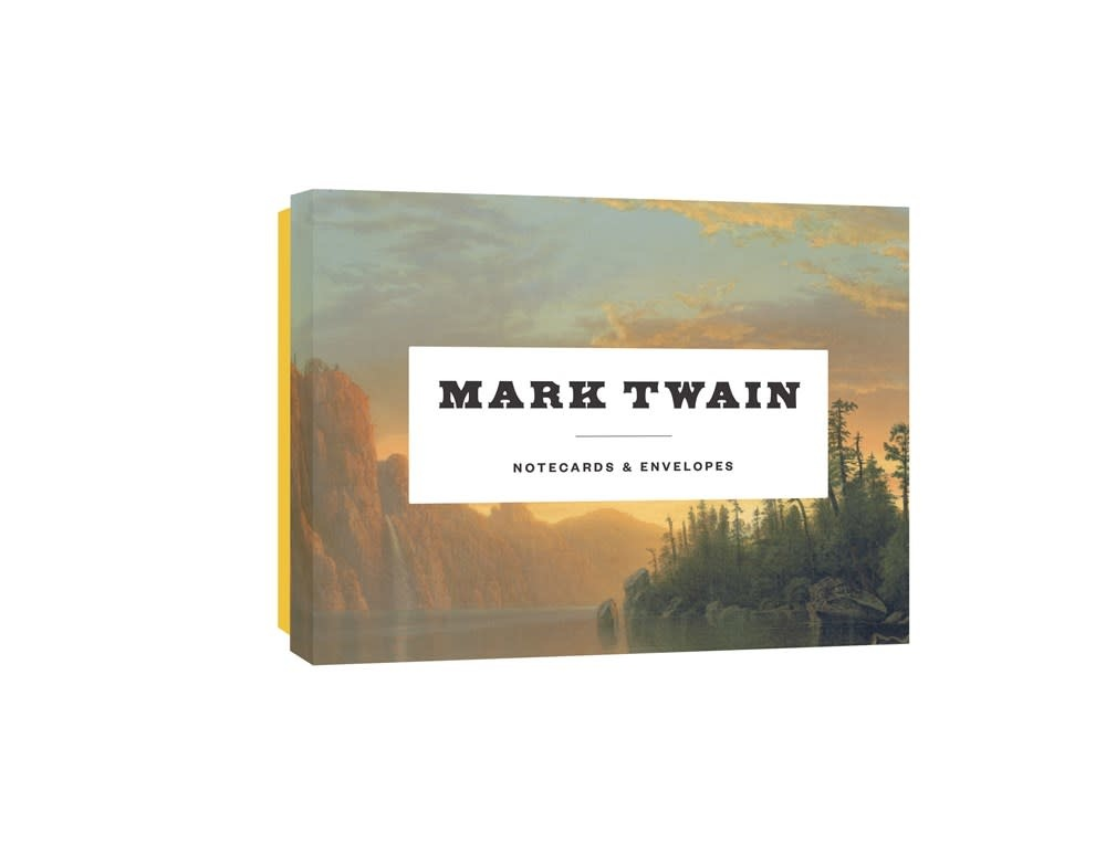 Princeton Architectural Press Mark Twain Notecards: 12 Literary Notecards + Envelopes