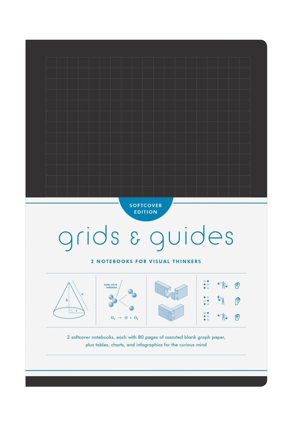 Princeton Architectural Press Grids & Guides Softcover (Black)