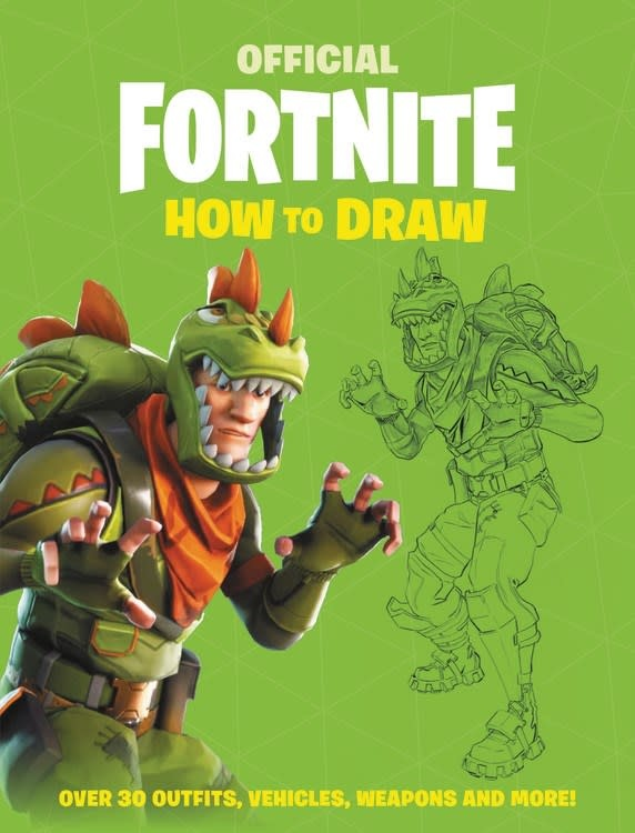 Little, Brown Books for Young Readers Fortnite (Official): How to Draw