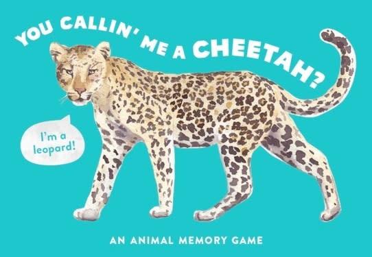 Laurence King Publishing You Callin' Me a Cheetah?: An Animal Memory Game